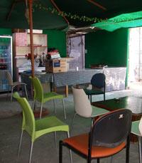 חצרות פנימיות של מסעדות בתחנה
