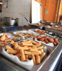 מוציאים את הסחורה החוצה - מסעדות בשוק הכרמל