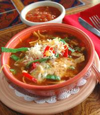 מרק של מקסיקנה להאנגאובר