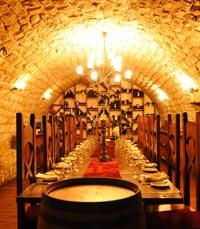 מרתף היין של מסעדת טוראנס