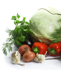 בריאות במזון הטבעוני
