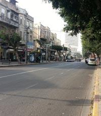 כבוד לרחוב אלנבי תל אביב
