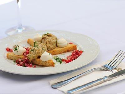 וילה כרמל - מסעדת הבית של מלון בוטיק