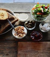יש גם ארוחות בוקר בריאות