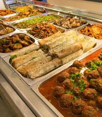 מסעדות ומעדניות מציעות אוכל לחג