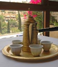 אבו גוש - קפה בפינג'אן
