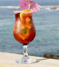 המצודה, קיסריה - היצע אלכוהול מגוון