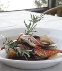 פירות ים בתפריט של מסעדת תנורין
