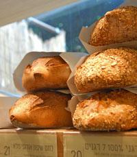 מגוון לחמים מלאים בלחם ארז