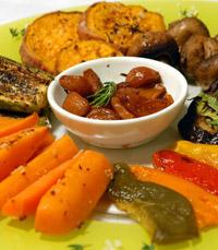 ירקות העונה בתוספת עשבי תיבול ושמן זית