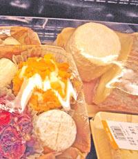 מגשי גבינה בבון מרשה, פריס