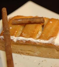 פאי התפוחים עם גלידת הוניל