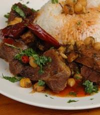מתבשילי המטבח של הפינג'אן ירושלים