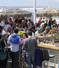 אירוע בייגלה במסעדת שלוותה בנמל תל אביב