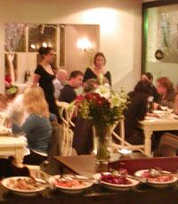 מסעדת נחלים על גדות נהר חצבני