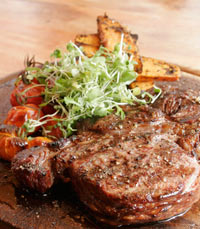בשר צפוני במסעדת ארנולד'ס
