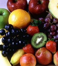 אפשר לשים גם פירות על הגריל