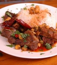 מאכלים ביתיים במסעדת הפינג'אן ירושלים