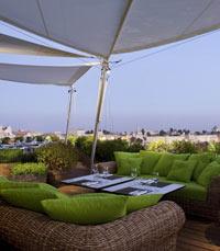 הנוף הנשקף ממסעדת רופטופ ירושלים