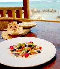 האוכל מתכתב עם הנוף במסעדות בנמל