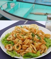 דגים ופירות ים בנמל יפו - מסעדות דגים ביפו