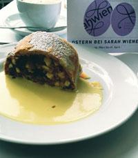 אפל שטרודל אצל שרה וינר - מסעדות בברלין
