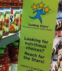 סימון מזון לפי שיטת הכוכבים