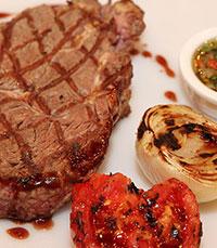 תפריט המתמחה בנתחי בשר
